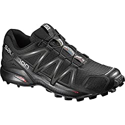 Salomon Men's Speedcross 4 Trail Runner, Black A1u8, 10.5 M Us