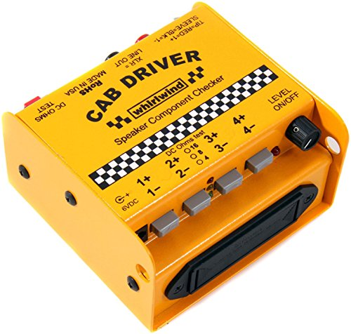 (Whirlwind CabDriver Speaker Component Checker)