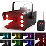 Best Fog Machines - Theefun Upgraded 500W Halloween Fog Machine with Lights Review