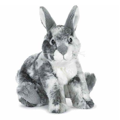 Webkinz Figure - Webkinz Signature Deluxe Plush Figure English Spot Bunny