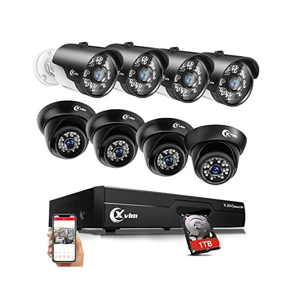 XVIM 8CH 720P Video Security Camera DVR System