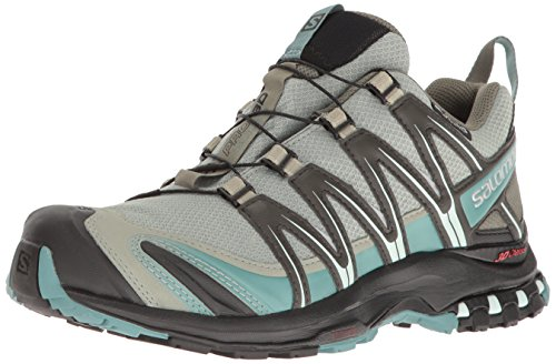 Salomon Women's XA Pro 3D CS Waterproof W Trail-Runners, Shadow, 5 M US by Salomon