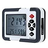 Mengshen® Indoor Air Quality Meter-CO2 0-9999PPM Temperature & Relative Humidity DataLogger Charged CO2 Monitor LCD/PC Handheld Carbon Dioxide Meter MS-M2000