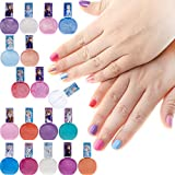 Townley Girl Frozen Non-Toxic 18 Piece Peel Off