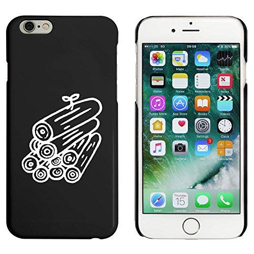 Noir 'Pile de Bois' étui / housse pour iPhone 6 & 6s (MC00050845)