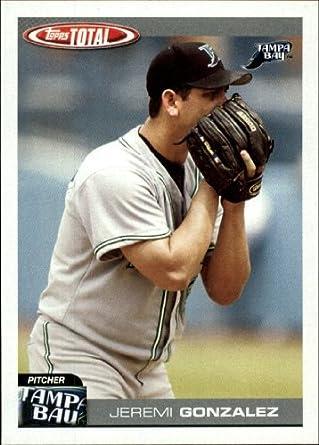 Amazoncom 2004 Topps Total Baseball Card 336 Jeremi