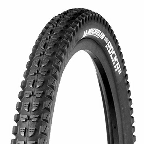 Michelin WildRock'R2 Magi-X Advanced Tubeless Ready Mountain Bicycle Tire (Black - 26 x 2.35) by MICHELIN