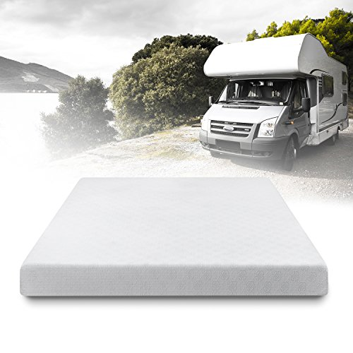 Camper Foam - Zinus 6 Inch Gel-Infused Green Tea Memory Foam Mattress, Short Queen