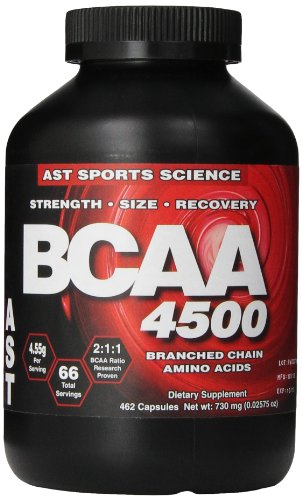 Ast Bcaa 4500mg 462 caps, 730mg Bottle