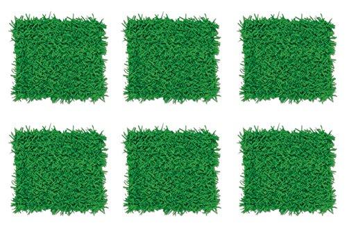 Beistle S55640AZ6 Tissue Grass Mats 6 Piece 15