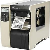 Zebra Technologies 140-8K1-00200 140XI4 Barcode Printer, 203 DPI, Zebra Technologies net B/G Print Server, Internal 10/100 Print server, 120V Cord, Rewind with Peel, 16MB SDRAM