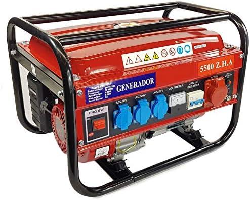 OPC Generador electrico Gasolina 230/380V 5500w