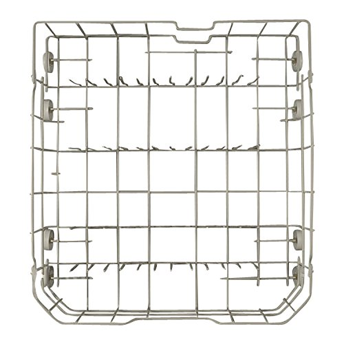 WD28X10206 GE Appliance Lower Dishrack Assembly (Ge Dishwasher Lower Rack Assembly compare prices)
