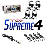 PCI Race Radios Trax Supreme 4 Seater Communication Kit