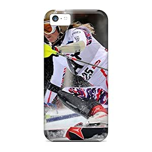 New Arrival Case Cover With AoPAtEB7981xJLKf Design For Iphone 5c- Austrian Skier