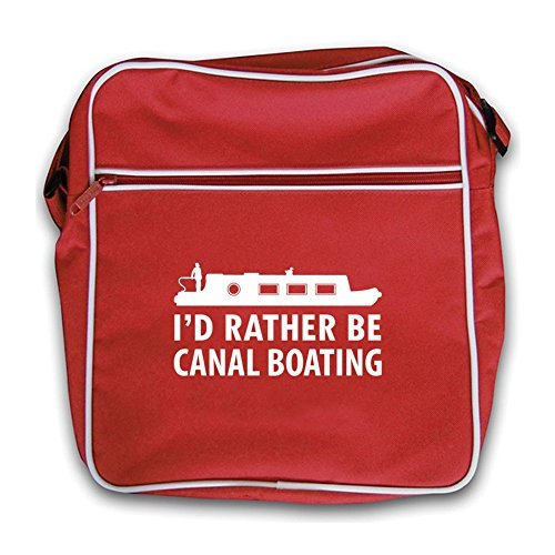 Red Canal Flight I'd Boating Rather Bag Be Red Retro nggUqz0W