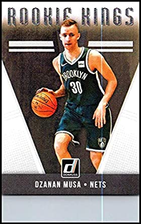 buy online 4965a d5eb8 Amazon.com: 2018-19 Donruss Rookie Kings #3 Dzanan Musa NM ...