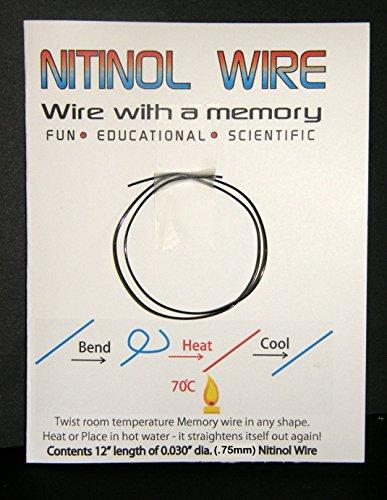 Nitinol Memory Wire 12
