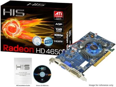Amazon.com: HIS Radeon HD 4650 1 GB DDR3 HDMI DL-DVI (HDCP) AGP Video Card  Retail (RoHS) H465F1GHA: Electronics