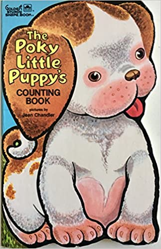 The Poky Little Puppys Counting Book Golden Books 9780307122520