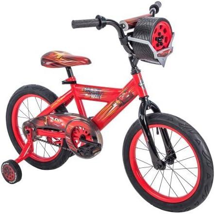 Huffy - Bicicleta Infantil con Sonido (40,6 cm), diseño de Cars de Disney y Pixar, Color Rojo: Amazon.es: Deportes y aire libre