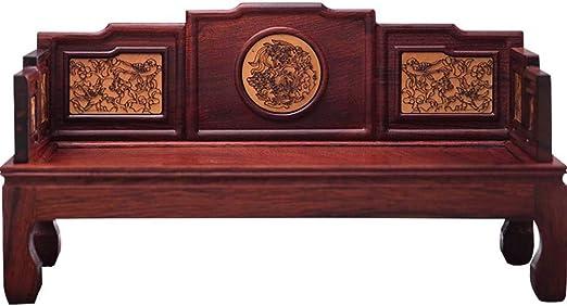 Dollhouse Chinese Solid Palisander Miniatur Möbel Traditionelle Arhat Bett