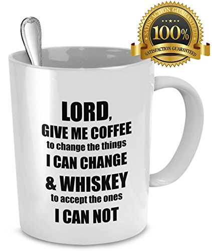 SALE Coffee Funny Whiskey Present