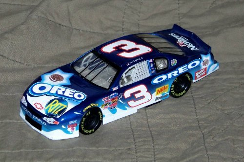 Dale Earnhardt Jr #3 Blue 2002 Oreo Ritz Monte Carlo Daytona 300 Non Raced Winning Paint Scheme Busch Series 1/24 Scale Action Racing Collectables Hood, Trunk Opens (Action Racing Collectables Hood)