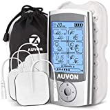 AUVON Rechargeable TENS Unit Muscle Stimulator (FDA...