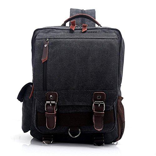 Hombres y mujeres de deportes al aire libre Mochila bolsa de viaje de gran capacidad plegable Mochila , black grey black grey