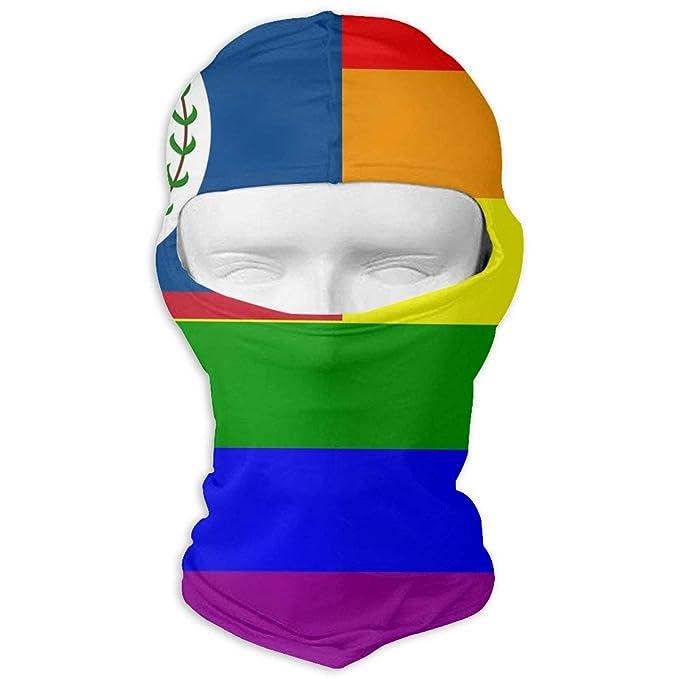 72fcc984c00 Winter Balaclava Face Mask -The Belize Rainbow Flag