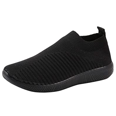 BaZhaHei Casual Damens Outdoor Mesh Schuhes Casual BaZhaHei Slip On Sneakers c7769c