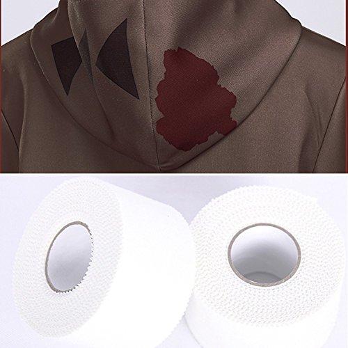Amazon.com: starfun Angels of Death Zack Isaac Foster Cosplay Costume Suit Halloween Cosplay Costume (Jacket+Pants): Clothing