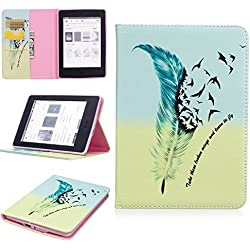 Kindle Paperwhite Case, Beimu Ultra Slim Lightweight Standing PU Leather Magnetic Case Cover for All-New Amazon Kindle Paperwhite (Fits All 2012, 2013, 2015 and 2016 Versions)