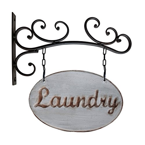 American Mercantile Metal Laundry Sign