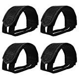 Willbond 2 Pairs Bicycle Feet Strap Pedal Straps for Fixed Gear Bike...