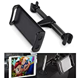 Nosame Car Headrest Mount, Adjustable iPad Stand Car Seat Tablet Holder,Cradle for iPad/Samsung Galaxy Tabs/Amazon Kindle Fire HD/Nintendo Switch,All 4 to 10.1 inch Devices and Tablets