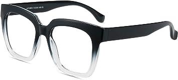 Herren Computer Brille mit Blaulichtfilter Entspiegelt f/ür Bildschirme Firmoo Blaulichtfilter Brille Damen Ohne Sehst/ärke Schwarz-Leopard Moderne UV Schutz Blaulichtbrille Dicke Vollrandrahmen