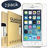 Premium 9H Tempered Glass Screen Protector 2/pack for iPhone 7/8 Plus