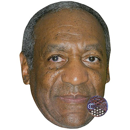 Bill Cosby Halloween Mask (Bill Cosby Celebrity Mask, Card Face and Fancy Dress)