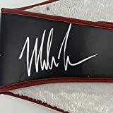 Autographed/Signed Mike Tyson WBA Black Boxing