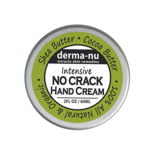 Intensive No Crack Hand Cream - Best Anti Aging Hand Cream - Hand & Foot Treatment for Dry Skin, Calluses, Cracked Skin Repair & Cuticle Cream. Soothes & Nourishes with Cocoa & Shea Butter - 2oz