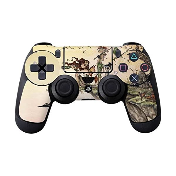 Skinit Decal Gaming Skin for PS4 Controller - Officially Licensed Tate and Co. Where The Wind Takes You Design 3
