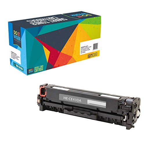 Do it Wiser Compatible Toner Cartridge for HP LaserJet Pro 400 Color M451dn M451dw M451nw MFP M475dn MFP M475dw Pro 300 Color MFP M375nw - CE410X CE411A CE413A CE412A - 4-Pack Photo #5