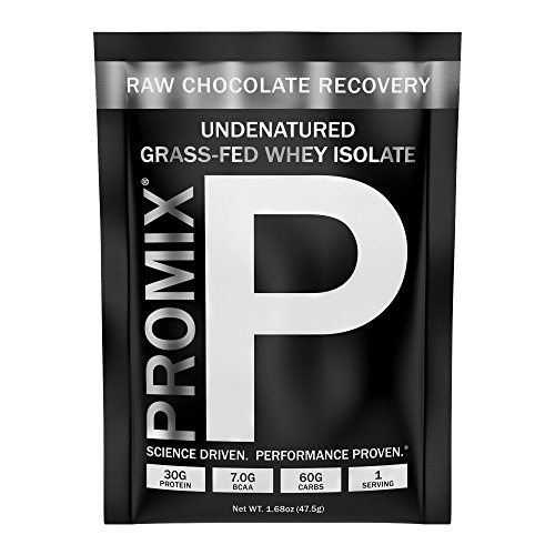 PROMIX: #1 Premium Recovery Mix: Organic Hydrolyzed Carbohydrate Blend + Organic Chocolate + Undenatured Grass-Fed Whey Isolate. Cold-Processed, Multi-stage, Micro-filtration. 30G Protein/6.9G BCAA