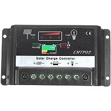 [Free Shipping] 5A Solar Panel Battery Regulator Charge Controller CE 12V/24V // 5a batería solar panel de controlador de carga regulador ce 12v / 24v