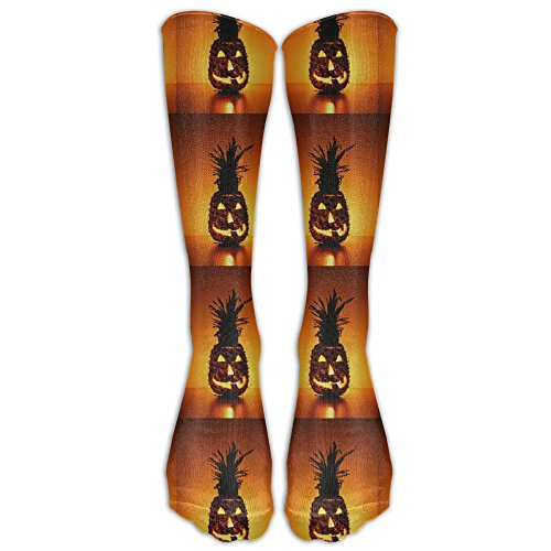 Funny Halloween Vampire PineappleKnee High Graduated Compression Socks