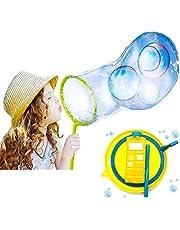 TOYLAND® Kit para Hacer Burbujas Gigantes - Crear Burbujas enormes - Juguetes al Aire Libre - Juegos de jardín