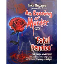 Max Haines An Evening of Murder FATAL REUNION Irwin Mystery Party Game