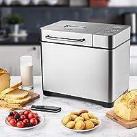 Aicok Panificadora con 19 Programas, Maquina de pan Automático y ...